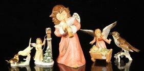 Five Goebel Porcelain Figures