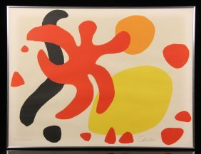 "Calder, ""free Forms,"" Artist Proof"