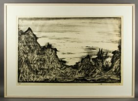 """Wilson, """"parsifal,"""" Lithograph"""