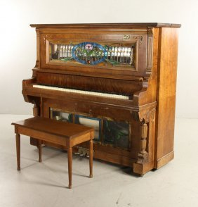Haines Co. Player Piano