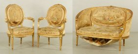 18th To 19th C. Parlor Suite