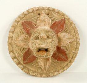 Pre Columbian Figural Plaque