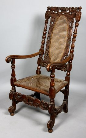 17th To 18th C. Spanish Armchair