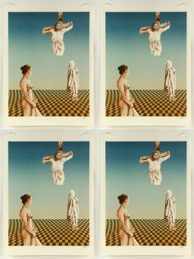 Heine, Crucifixion, 4 Lithographs