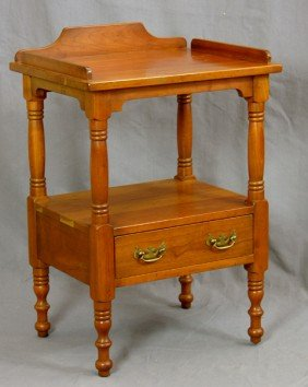 Two Pieces Of Leopold Stickley Cherry Furniture, C