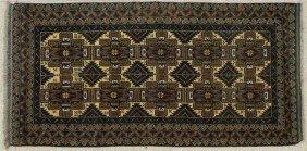 Afghan Beluchi Carpet, 3' 6 X 6' 10