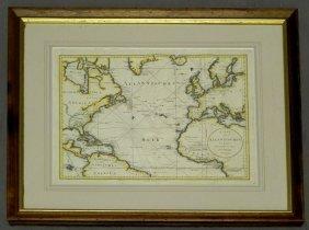 """F. A. Schraembl, """"Map Of The Atlantic Ocean,"""" 1788"""