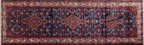 Hamadan Carpet, 3' 4 X 9' 10.