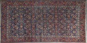 Semi-antique Heriz Carpet, 4' 2 X 6'.