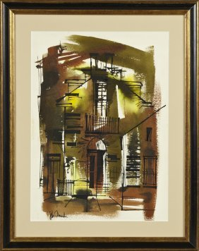 "Johnny Donnels (1954-2009), ""french Quarter Street"