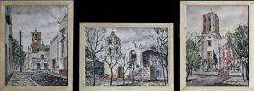 """Hubert Hanush, """"iglesia Parachao,"""" """"mexican Church,"""""""