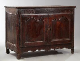 French Provincial Louis Xv Style Carved Cherry And Oak