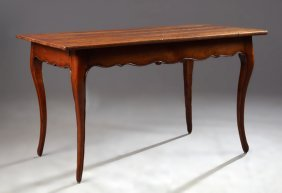French Provincial Louis Xv Style Carved Cherry Kitchen