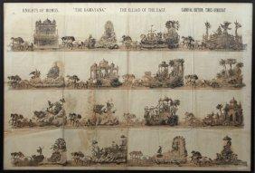 """Mardi Gras Parade Bulletin, Momus, 1882, """"the"""