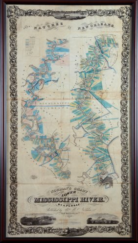 """After Marie Adrien Persac (1823-1873), """"norman's Chart"""
