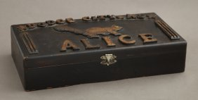 A Prostitute's Box From Dodge City, Kansas, 19th And