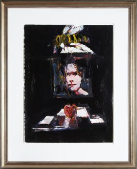 "Jere Allen (1944- , Mississippi), ""still Life With"