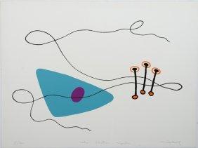 "Lionel Chauve, ""the Electric Guitar,"" 20th C., Print,"