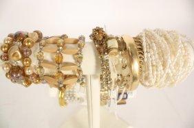 19 Vintage And Costume Bracelets
