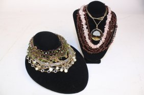 Necklace Group Lot Vintage Jewelry