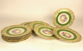 Bohemia Floral Plate Set Of 10
