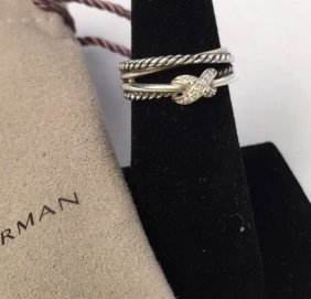 David Yurman Diamond Ring