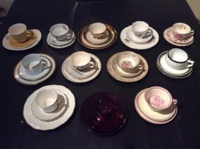 Collection Of 12 Tea Service Sets