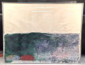John Walker Artist Proof Contemporary Abstract