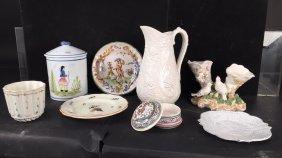 Group English Italian Pottery