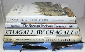 Lot Of 5 Hardcover Art Books