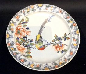 Tiffany & Co Platter Hand Painted In France
