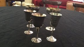Silver Plated Cups One Jewish Star Cup Two Cups In This