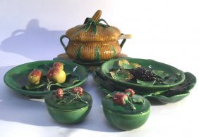 Majolica Mixed Group Lot This Is A Mixed Lot With All