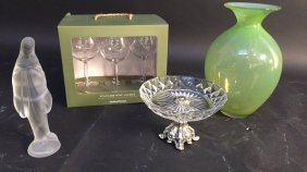 Group Lot Crystal And Glassware Smith & Hawken Polycarb