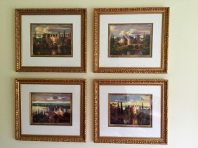 Max Heyslette Group 4 River Chateau Suite Giclee