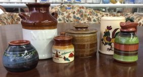 Metlox Pottery And Other Signed Items Metlox Coffee