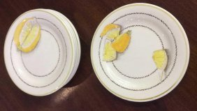 Gien France Set Of Six Lemon Plates Set Of 6 Plates