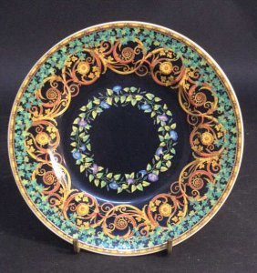 Versace Rosenthal Gold Tray Versace Rosenthal Gold Tray