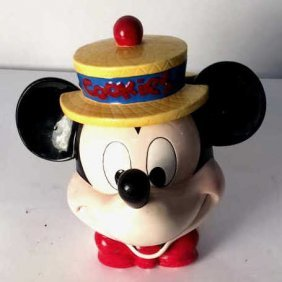 Mickey Mouse Cookie Jar Old Fashion Mickey Mouse Cookie
