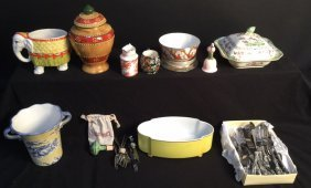 14 Piece Group Lot Of Mixed Miscellaneous Items Vintage