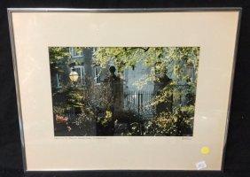 Framed Photo Of Charleston Signed Rarocz Framed Photo