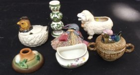 Small Group Lot Of Mixed Items Group Lot Of 7 Small