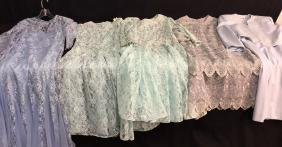 Vintage Designer Ladies Clothing Group Lot 5 Assorted