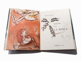 Chagall, Dessins Pour La Bible, Verve Nos.. 37-38,