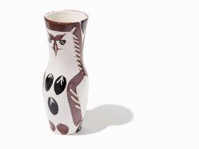 Pablo Picasso, 'chouetton', Ceramic Vase, 1952