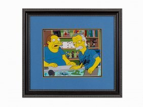 Fox Broadcasting, Simpsons, Print On Paper, 2010