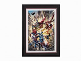 Stan Lee, Fearless, Giclée On Paper, 2012