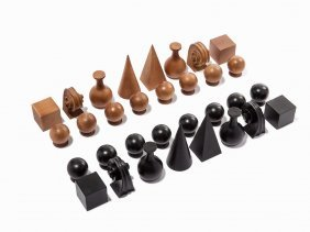 Man Ray (after), Complete Chess Set, 1920/1971