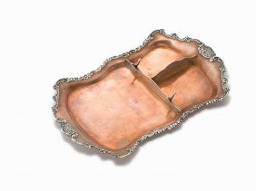 Tiffany & Co., Sterling Silver & Copper Desk Tray, Usa,