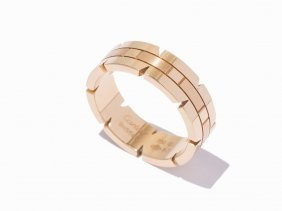 Cartier Tank Francaise 18k Yellow Gold Ring